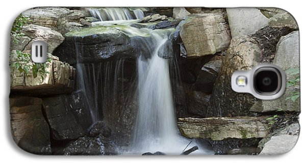 Landscapes Photographs Galaxy S4 Cases - Waterfall Galaxy S4 Case by Lisa Wright