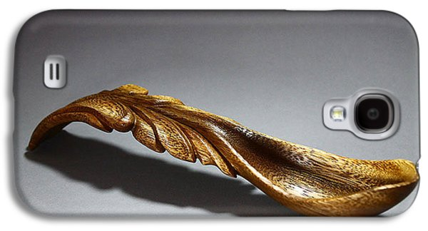 Abstract Forms Sculptures Galaxy S4 Cases - Waterfall Spoon 3 Galaxy S4 Case by Abram Barrett