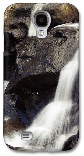 Abstract Movement Galaxy S4 Cases - Waterfalls Galaxy S4 Case by Les Cunliffe