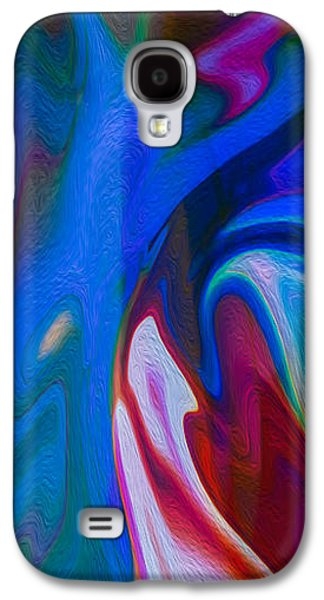Abstract Digital Mixed Media Galaxy S4 Cases - Waterfalls of Desire II Galaxy S4 Case by Omaste Witkowski