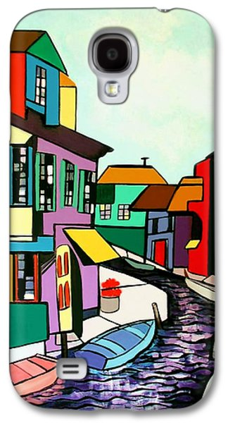Building Metal Prints Galaxy S4 Cases - Waterfront Galaxy S4 Case by Anthony Falbo