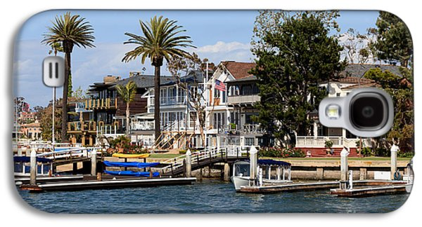 Upscale Galaxy S4 Cases - Waterfront Luxury Homes in Orange County California Galaxy S4 Case by Paul Velgos