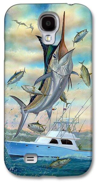 Marlin Galaxy S4 Cases - Waterman Galaxy S4 Case by Terry Fox