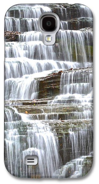 Inner Peace Galaxy S4 Cases - Waters Eternal Flow Galaxy S4 Case by Frozen in Time Fine Art Photography