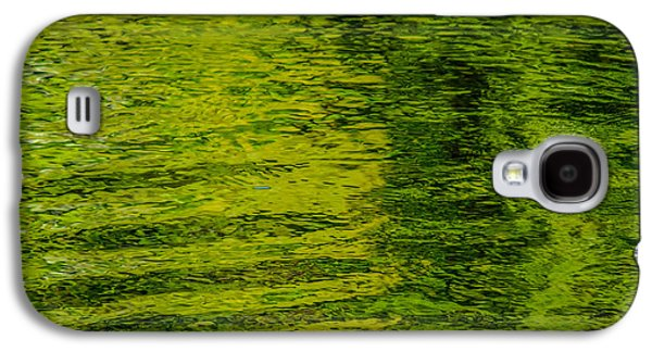 Trees Reflecting In Creek Galaxy S4 Cases - Waters Green Galaxy S4 Case by Roxy Hurtubise