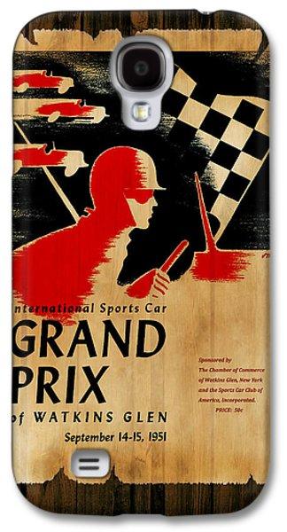 Sports Photographs Galaxy S4 Cases - Watkins Glen Grand Prix 1951 Galaxy S4 Case by Mark Rogan