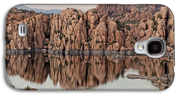 Prescott Photographs Galaxy S4 Cases - Watson Lake Tranquility Galaxy S4 Case by Angie Schutt