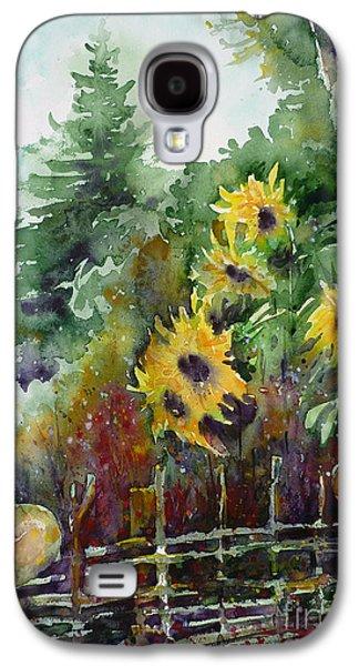 Crocks Galaxy S4 Cases - Wattle Fence Galaxy S4 Case by Zaira Dzhaubaeva