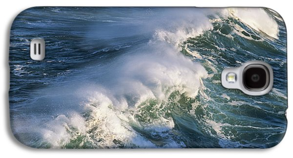 Wave Breaking At Shore Acres State Park Galaxy S4 Case by Robert L. Potts