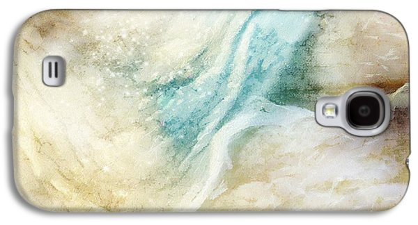 Abstract Seascape Digital Art Galaxy S4 Cases - Wave Galaxy S4 Case by Gun Legler