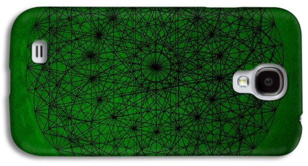 Light Galaxy S4 Cases - Wave Particle Duality II Galaxy S4 Case by Jason Padgett