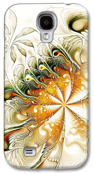 Digital Galaxy S4 Cases - Waves and Pearls Galaxy S4 Case by Anastasiya Malakhova