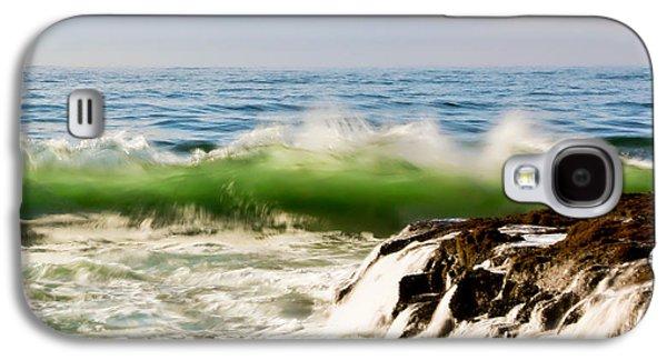 Waterscape Galaxy S4 Cases - Waves II Galaxy S4 Case by Athena Mckinzie