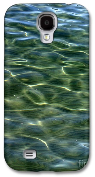 Reflecting Water Galaxy S4 Cases - Waves on Lake Tahoe Galaxy S4 Case by Carol Groenen