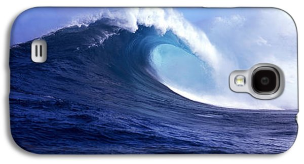 Strength Photographs Galaxy S4 Cases - Waves Splashing In The Sea, Maui Galaxy S4 Case by Panoramic Images