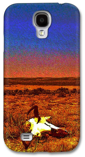 Way Out West Galaxy S4 Case by Amanda Smith