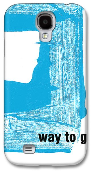 Graduation Galaxy S4 Cases - Way To Go- Congratulations greeting card Galaxy S4 Case by Linda Woods