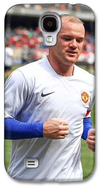 Wayne Rooney 5 Galaxy S4 Case by Keith R Crowley