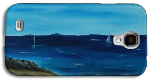 Bob Ross Paintings Galaxy S4 Cases - We are Sailing.. Galaxy S4 Case by Cynthia Adams