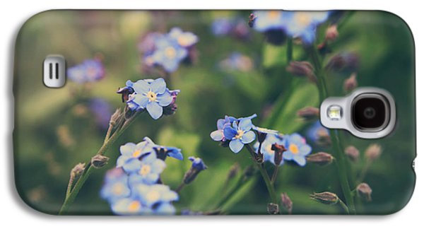 Garden Flowers Galaxy S4 Cases - We Lay With the Flowers Galaxy S4 Case by Laurie Search
