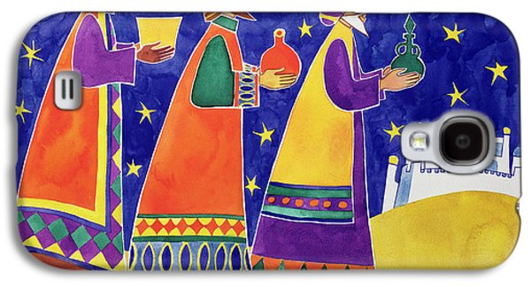 Gift Photographs Galaxy S4 Cases - We Three Kings Of Orient Are Galaxy S4 Case by Cathy Baxter