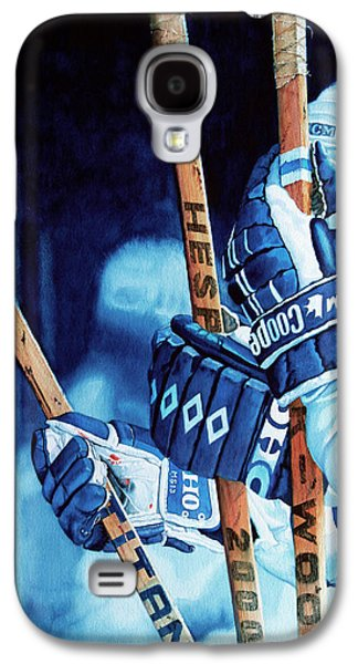 Canadian Sports Paintings Galaxy S4 Cases - Weapons of Choice Galaxy S4 Case by Hanne Lore Koehler