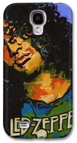 Slash Paintings Galaxy S4 Cases - Wearing and Tearing  Galaxy S4 Case by Tanya Filichkin