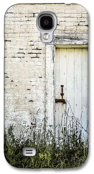 Old Door Galaxy S4 Cases - Weathered Door Galaxy S4 Case by Diane Diederich