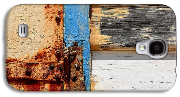 Abstracted Galaxy S4 Cases - Weathered Galaxy S4 Case by Sabina DAntonio