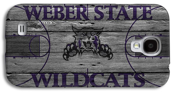 Dunk Galaxy S4 Cases - Weber State Wildcats Galaxy S4 Case by Joe Hamilton