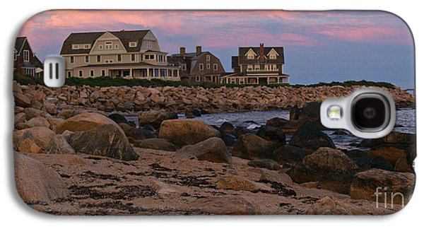 Weekapaug Ri Sunset Panorama Galaxy S4 Case by Anna Lisa Yoder