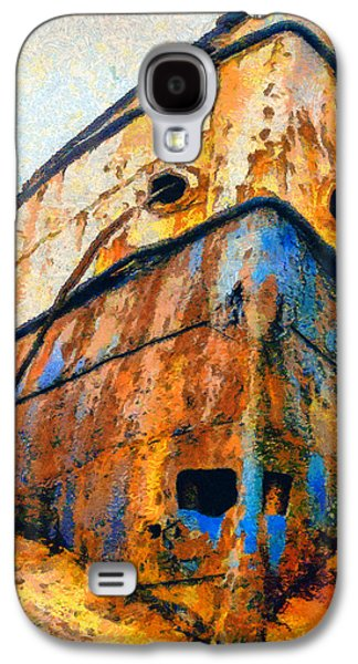 Weeping Drawings Galaxy S4 Cases - Weeping ship Galaxy S4 Case by George Rossidis