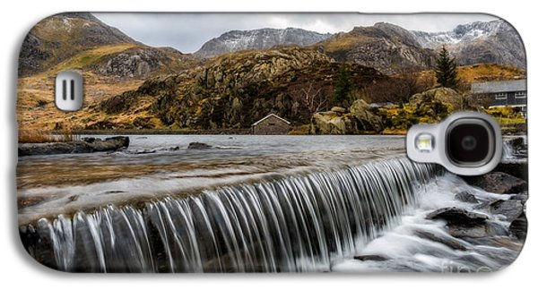 Winter Digital Art Galaxy S4 Cases - Weir At Ogwen Galaxy S4 Case by Adrian Evans