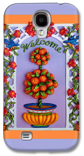 Welcome Galaxy S4 Case by Amy Vangsgard