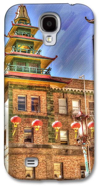 Welcome To Chinatown Galaxy S4 Case by Juli Scalzi