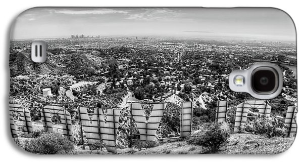 Best Sellers -  - Studio Photographs Galaxy S4 Cases - Welcome to Hollywood - BW Galaxy S4 Case by Natasha Bishop