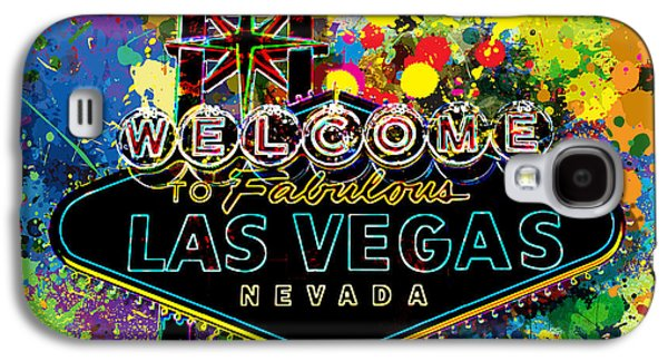 Digital Galaxy S4 Cases - Welcome to Las Vegas Galaxy S4 Case by Gary Grayson