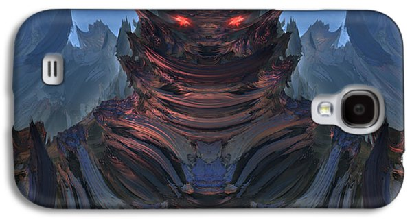 Welcome To My Planet Galaxy S4 Case by Pauline Olney