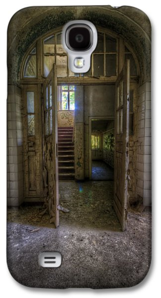 Haunted House Digital Art Galaxy S4 Cases - Welcome to my world Galaxy S4 Case by Nathan Wright