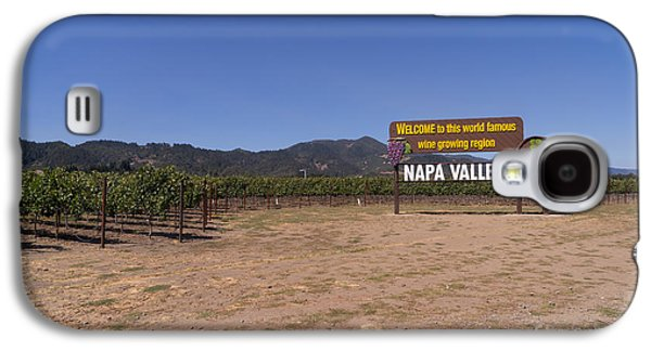 Napa Valley And Vineyards Galaxy S4 Cases - Welcome To Napa Valley California DSC1682 Galaxy S4 Case by Wingsdomain Art and Photography