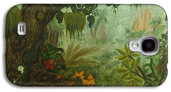 Animation Paintings Galaxy S4 Cases - Welcome to the Jungle Galaxy S4 Case by Brenda Salamone
