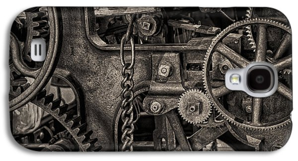 Machinery Galaxy S4 Cases - Welcome to the Machine Galaxy S4 Case by Erik Brede