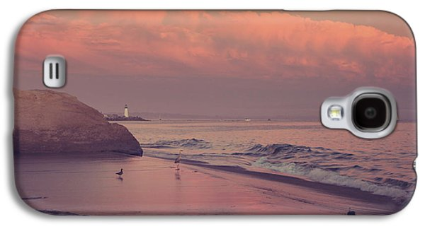 Santa Cruz Ca Galaxy S4 Cases - Well Just Sit Here For a While Galaxy S4 Case by Laurie Search