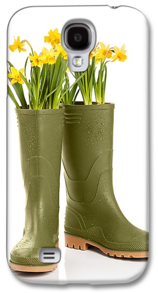 Concept Photographs Galaxy S4 Cases - Wellington Boots Galaxy S4 Case by Amanda And Christopher Elwell