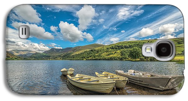 Boat Galaxy S4 Cases - Welsh Boats Galaxy S4 Case by Adrian Evans