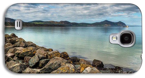 North Sea Galaxy S4 Cases - Welsh Coast Galaxy S4 Case by Adrian Evans