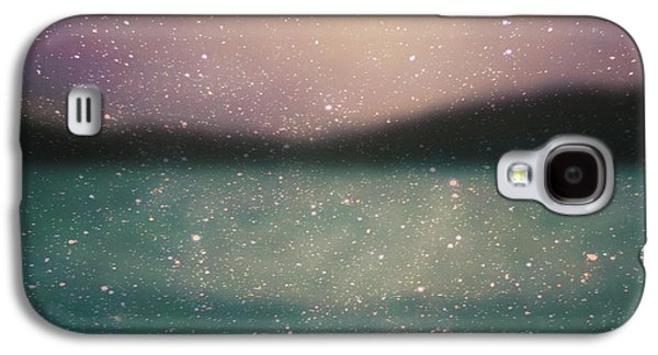 Blue Abstracts Photographs Galaxy S4 Cases - Wendys Dream Galaxy S4 Case by Violet Gray