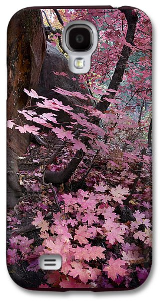 Oak Creek Galaxy S4 Cases - West Fork Fall Colors Galaxy S4 Case by Dave Dilli