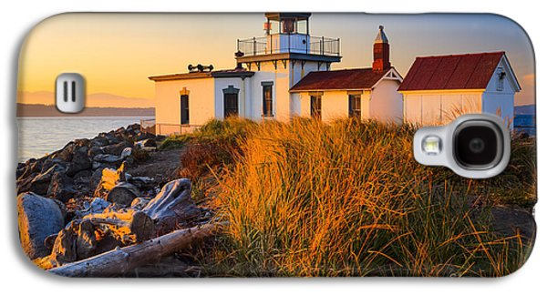 North America Galaxy S4 Cases - West Point Lighthouse Galaxy S4 Case by Inge Johnsson