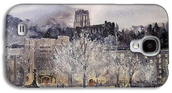 Winter Landscapes Galaxy S4 Cases - West Point Winter Galaxy S4 Case by Sandra Strohschein